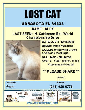 Have you seen Alex?