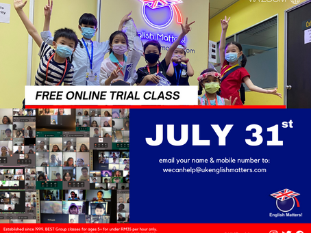 FREE Trial Class! 😱
