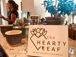 Hearty Leaf Logo