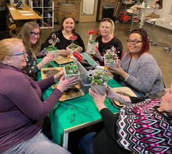Christmas Workshop Attendees