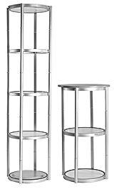 olika stands display plegable