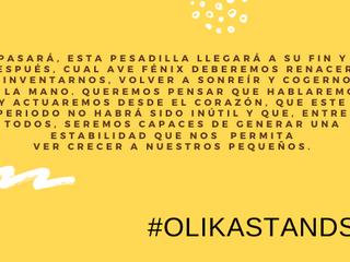Somos #OlikaStands y hoy empezamos el día pensando en ti.