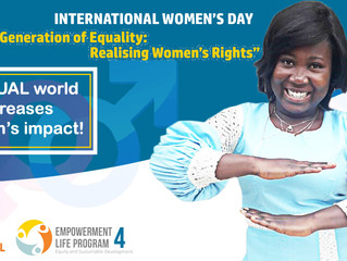 Equal world accelerates women's development efforts!