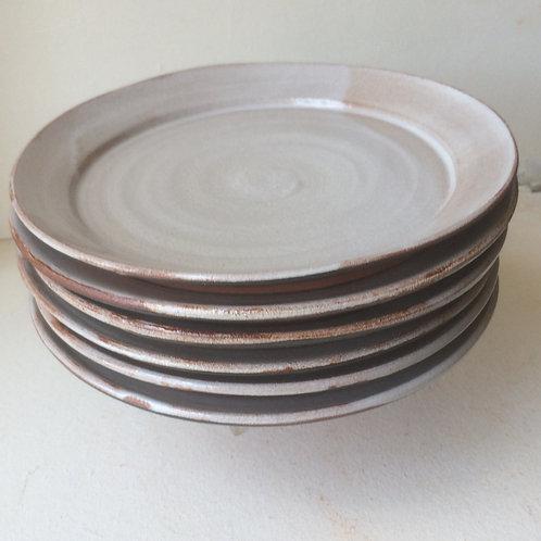 Tin Glaze Side / Lunch Plate