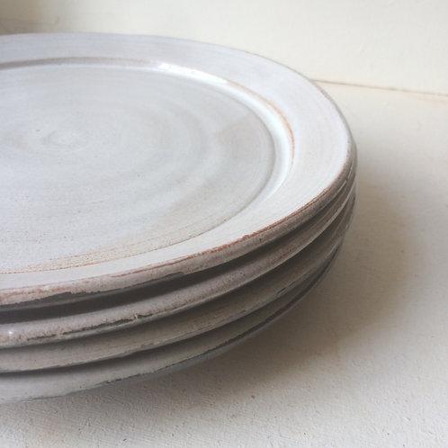 Tin Glazed Dinner Plate