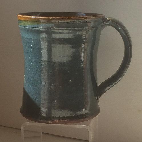 Green Slipware Mug