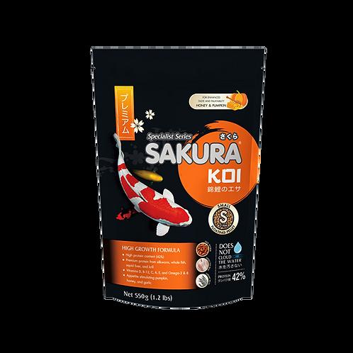 Sakura Koi High Growth Formula 550G