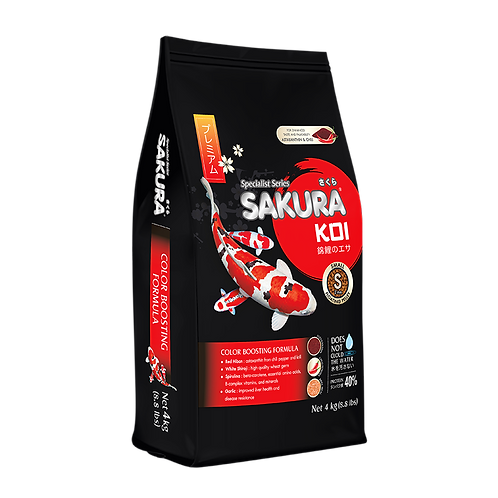 Sakura Koi Color Boosting Formula 4G