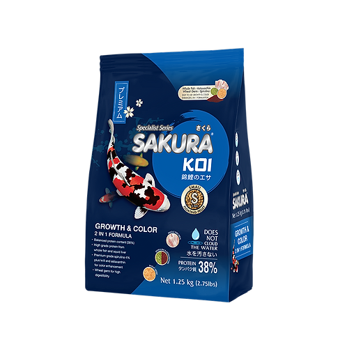 Sakura Growth & Color 2in1 Formula 1.25KG
