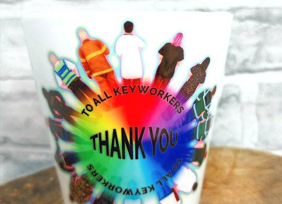 Thank You Keyworkers Mugs