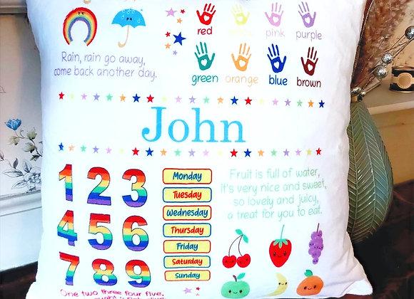 Children's Learning Cushion