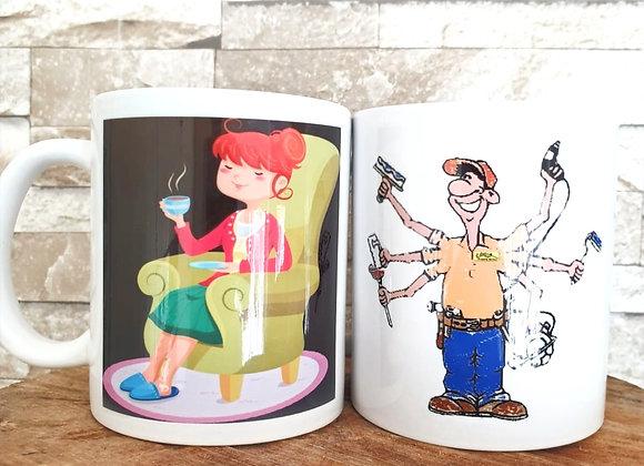 Couples DIY Mug
