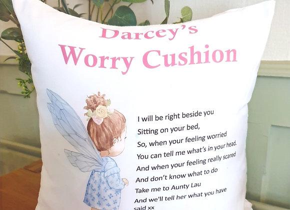 Personalised Worry Cushion