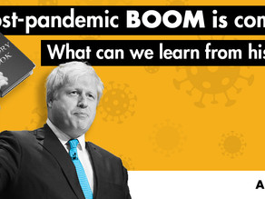 A post-pandemic BOOM is coming! What can we learn from history?