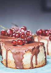 Craneberries Chocolate Cakes
