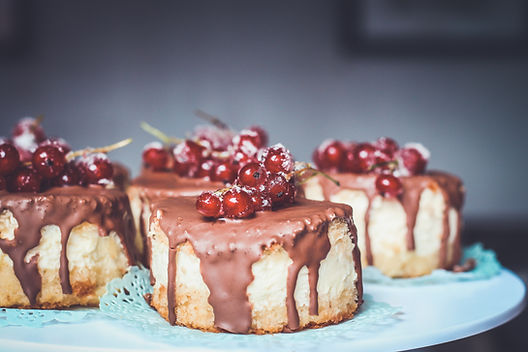 Cranberries Chocolate Cakes