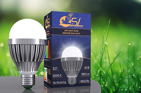 светодиодные светильники, солнечный спектр, SL-B-