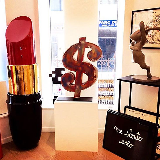 ANY DOLLAR SCULPTURE BY GAD BERRY TRIBUTE TO ANDY WARHOL DOLLAR SIGN