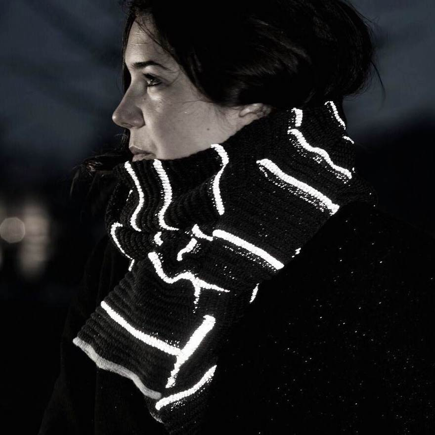 eyeme scarf, photo: Andreas Mikkel