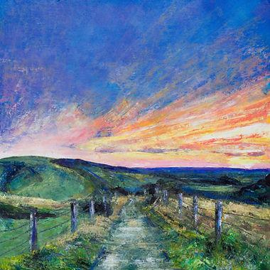 Sophie Jenkins Art - Over the Hills Web