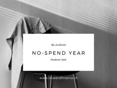 My Accidental No-Spend Year