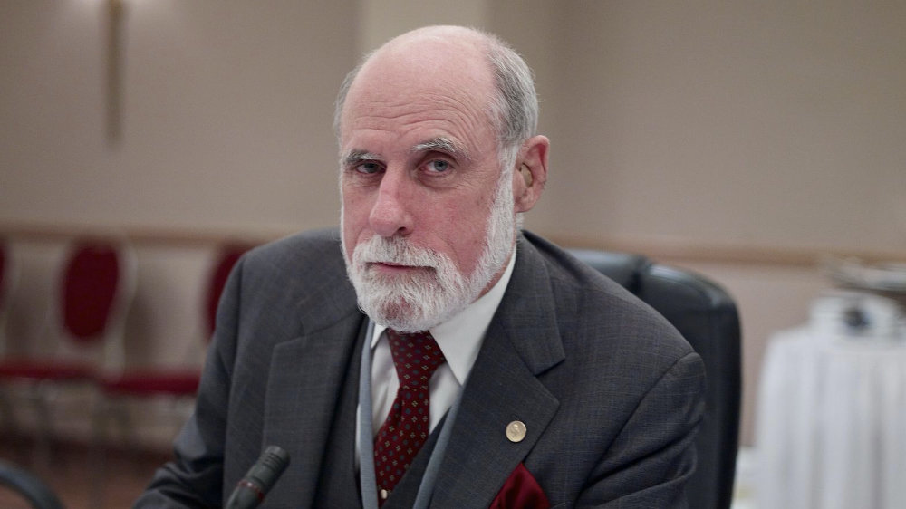 Vince Cerf, co-creator of the internet (image Joi Ito, Flikr, Creative Commons)