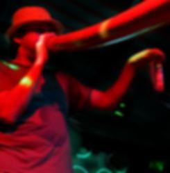 Didgeridoo player Stephen Kent performing at Didgeridoo Festivals Brisbane Queensland Australia