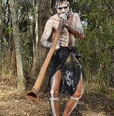 Cultural artist Martin Ellis at Didgeridoo Festivals in Brisbane Australia