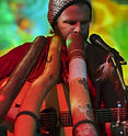 Didgeridoo player Trevor Green performing at Didgeridoo Festivals Brisbane Queensland Australia