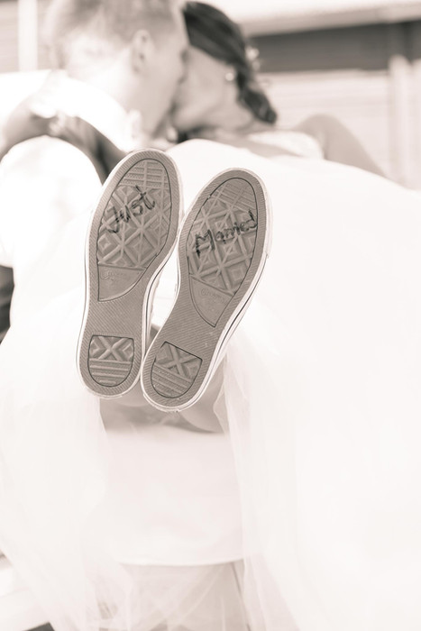 Kreativ Rolig bröllopsfotograf