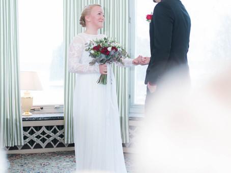 Bröllopsfotografering Virsbo Herrgård