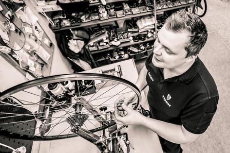 Företagsporträtt hos Claessons Cykel