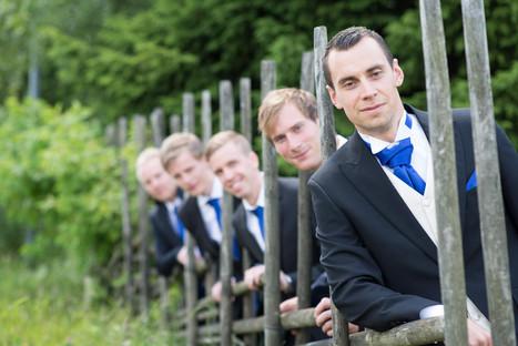 Bröllop förberedelser brudgum