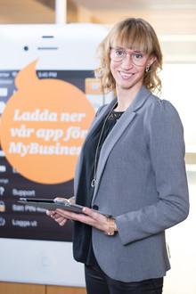 Porträttfotograf hos PWC Ludvika