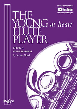 The Young At Heart Flute Player by Karen North Book 6