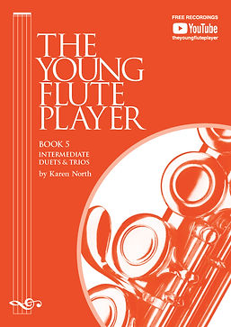 The Young Flute Player Book 5 by Karen North