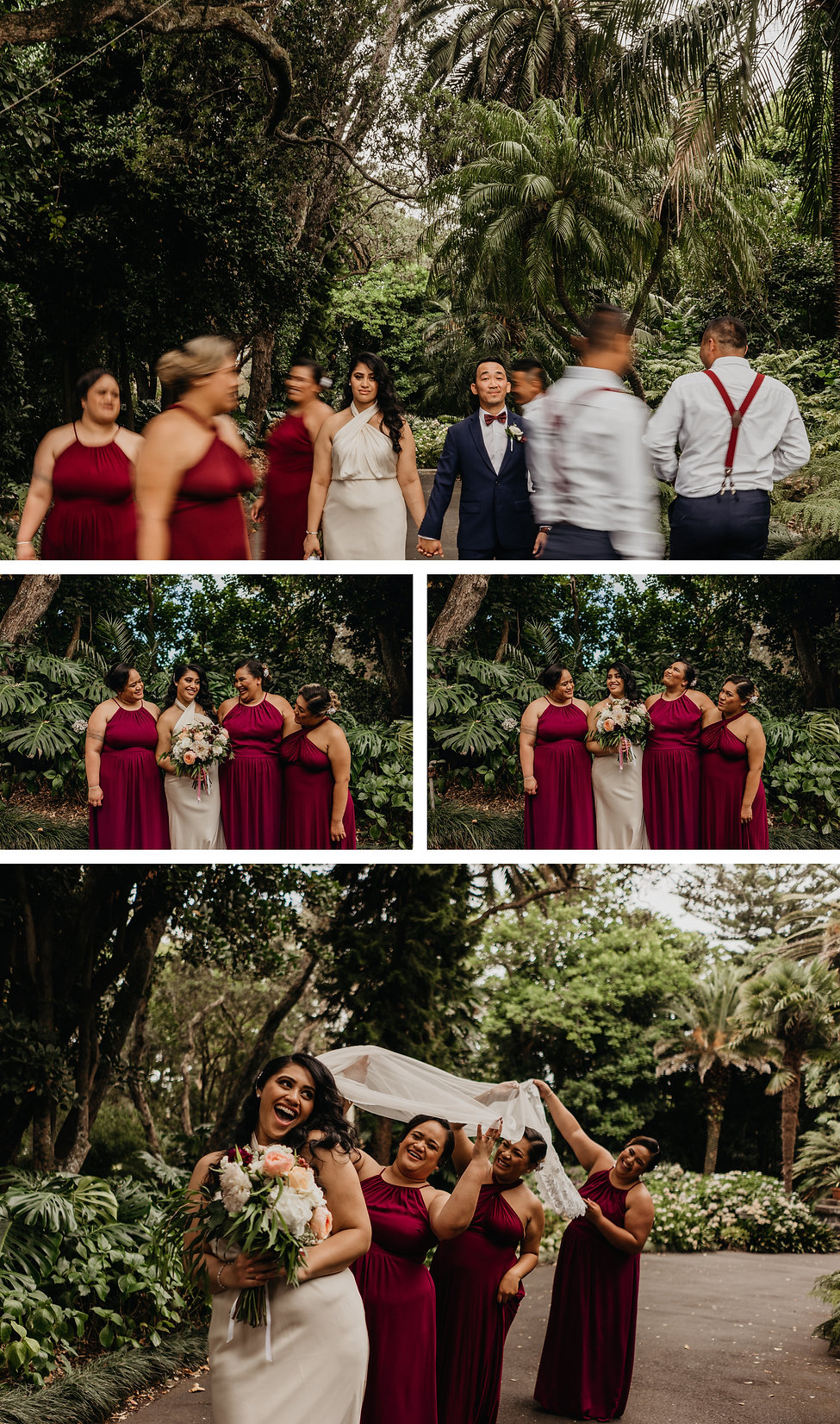 Wedding part photos at Auckland, New Zealand Kelliher Estate, captured by Wanderlusting Lovers