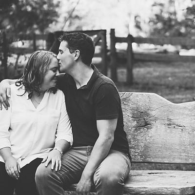 Jessica and Matt's engagement