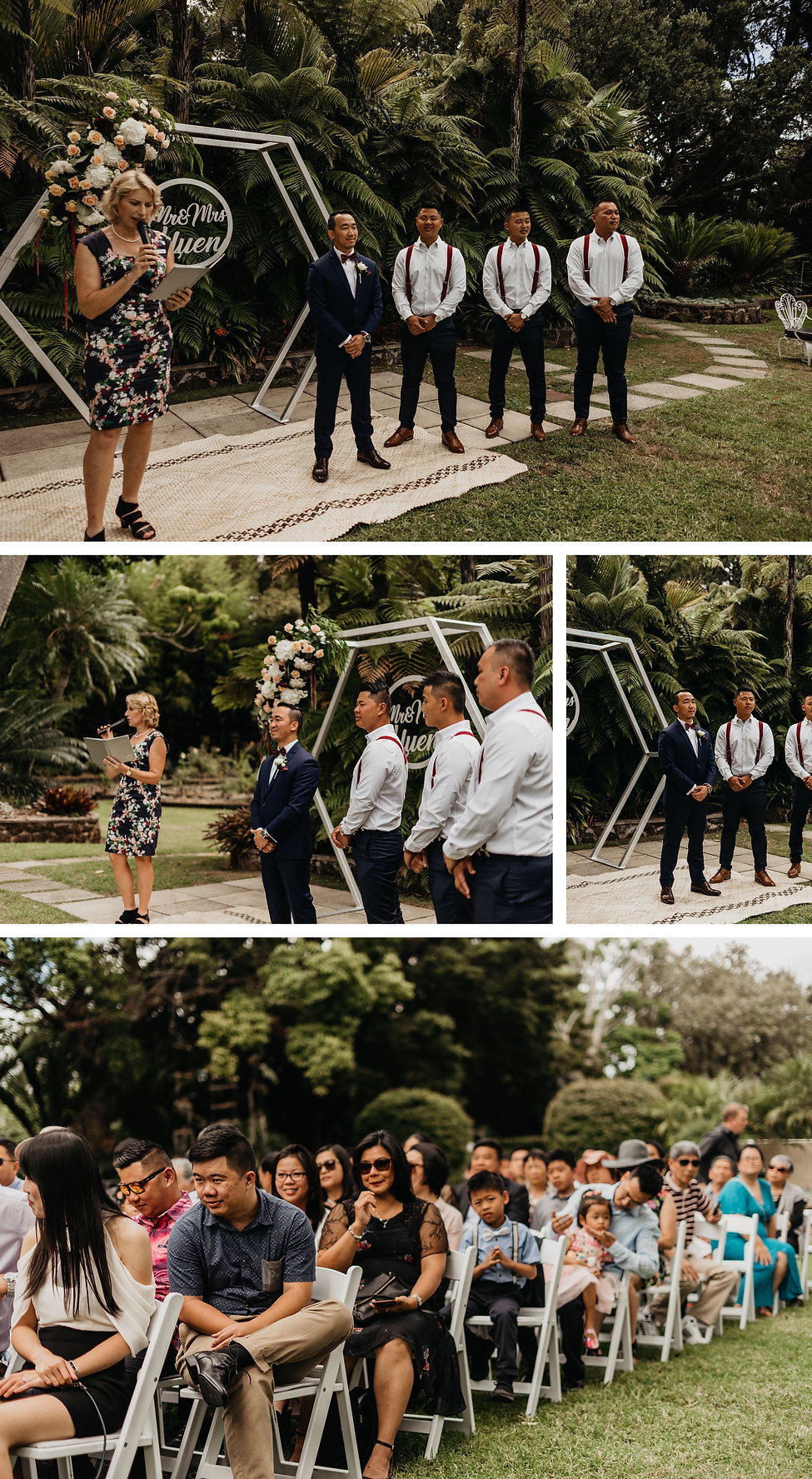 Vintage wedding at The Kelliher Estate in Auckland, New Zealand captured by wanderlusting lovers
