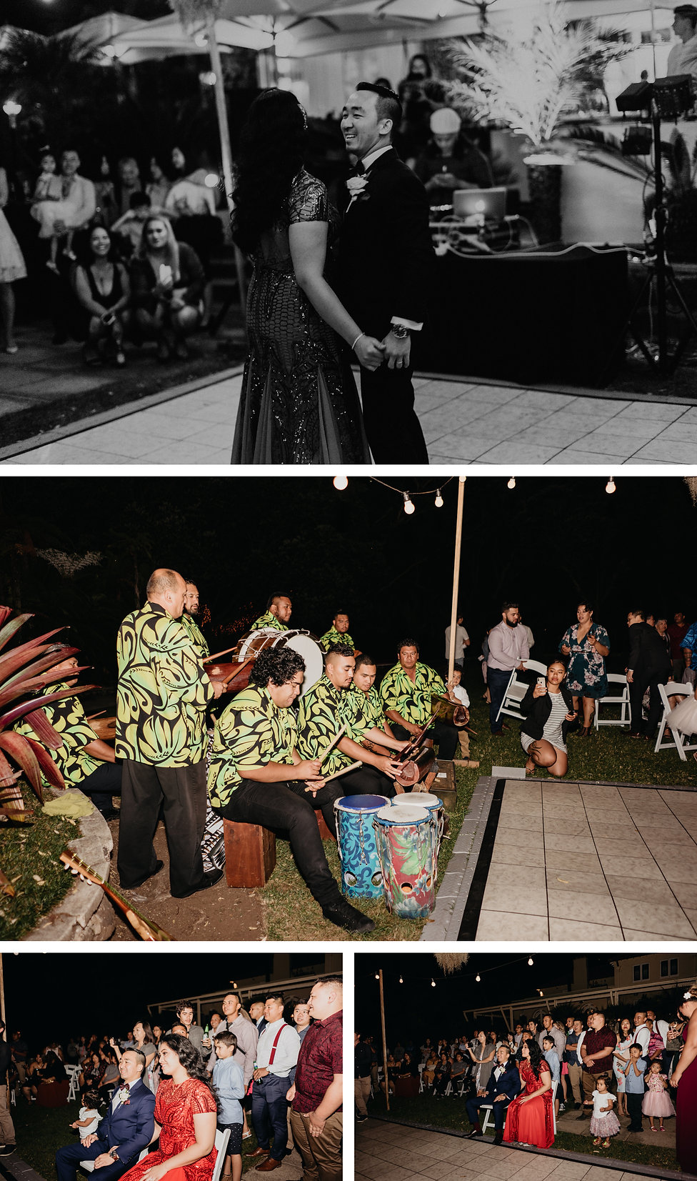 First dance captured at Kelliher Estate in Auckland, New Zealand. Tongan cultural dance group