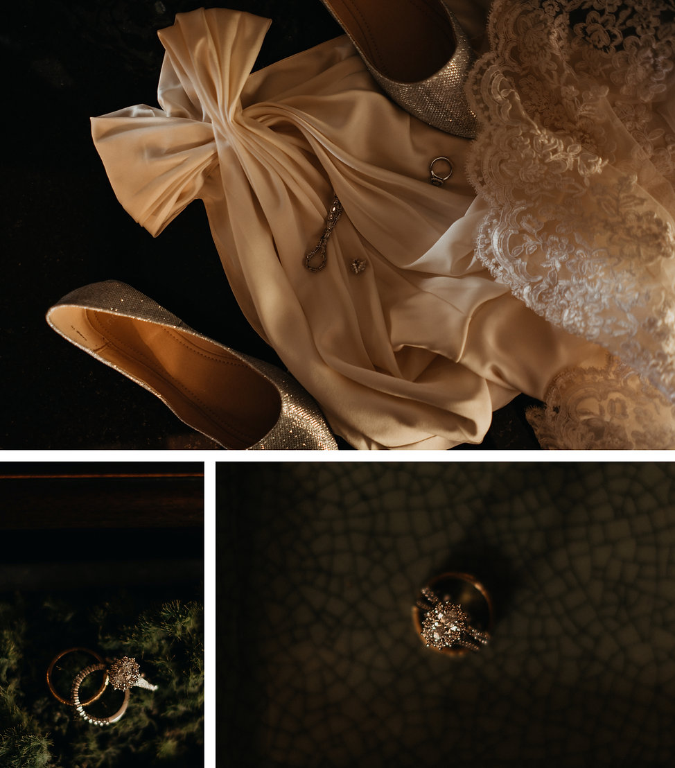 Vintage cultural wedding at Kelliher Estate in Auckland, New Zealand, wedding dress