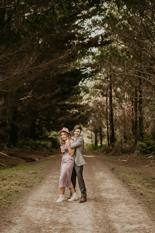 adventure couples session in Riverhead forrest, pre wedding, by wanderlusting lovers