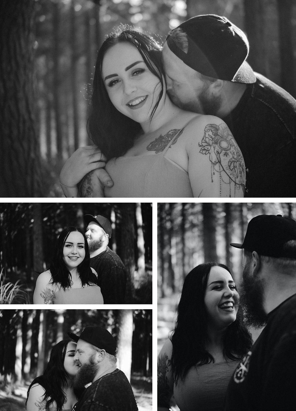 adventuring engagement session captured by wanderlusting lovers in waiuku forest, auckland new zealand