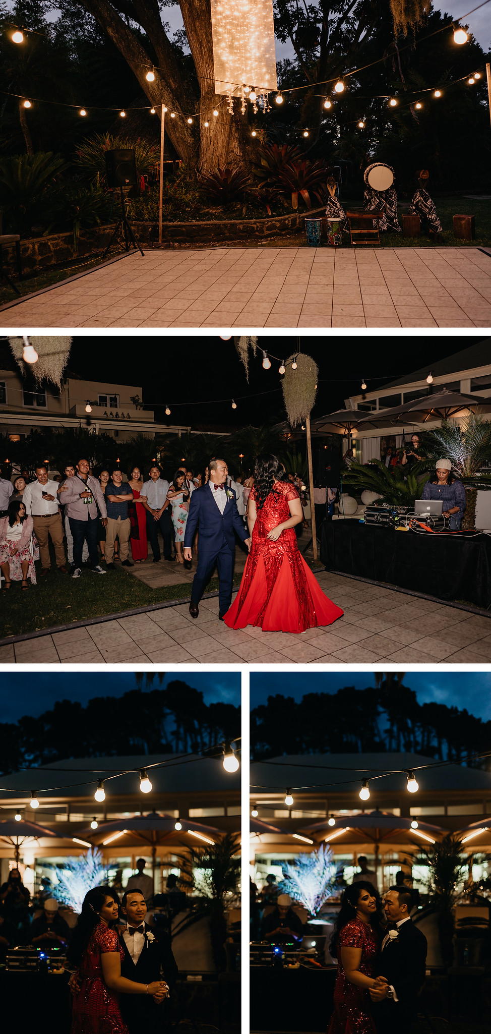 The Kelliher Estate wedding captured in Auckland, New Zealand, first dance