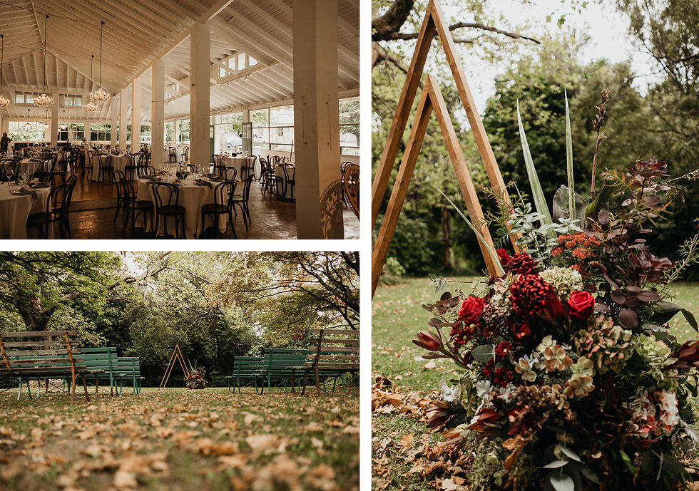 Wedding at Rose & Smith in Featherston, New Zealand. Wellington Wedding Venue