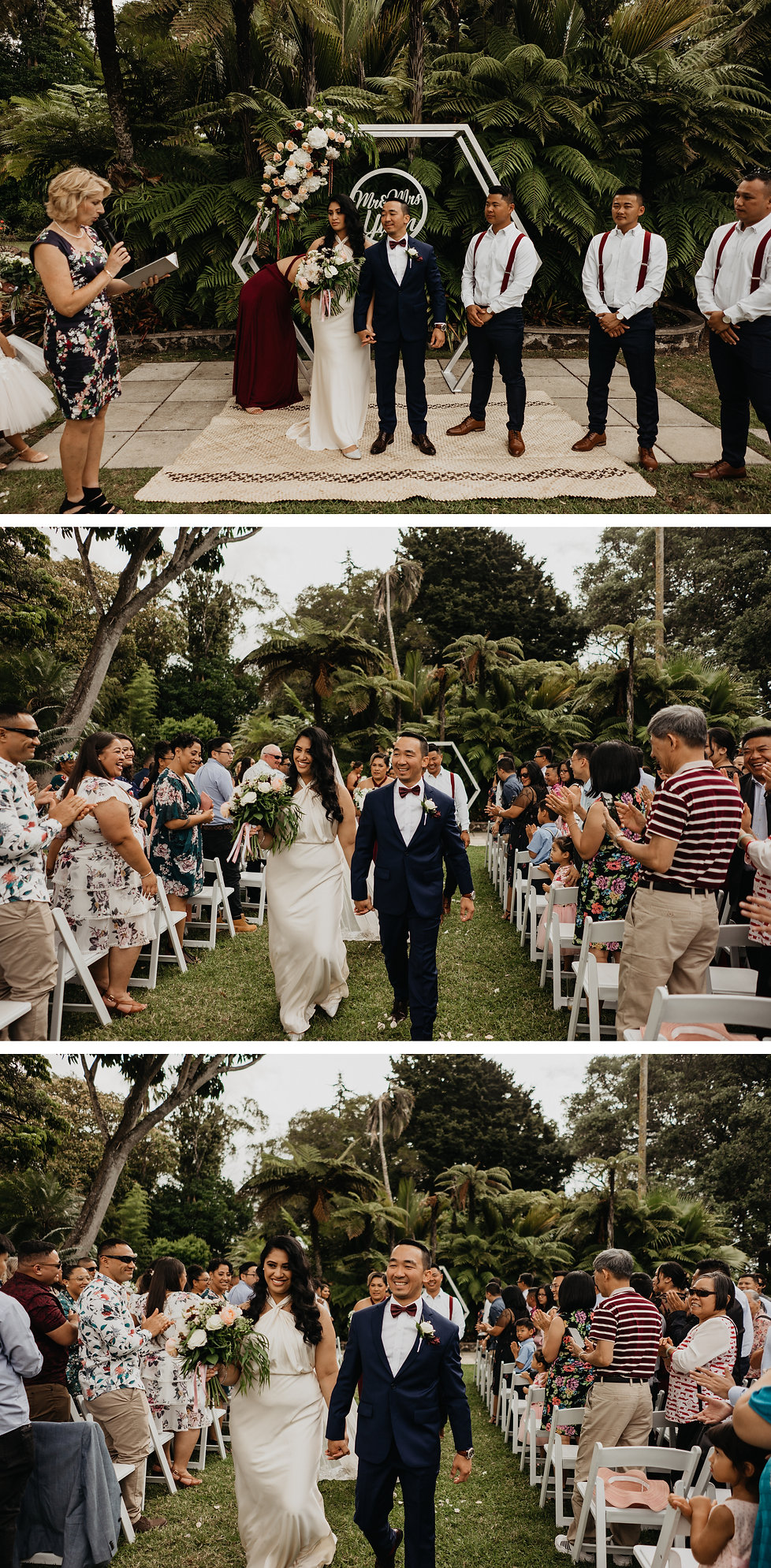 Vintage wedding at The Kelliher Estate in Auckland, New Zealand captured by wanderlusting lovers