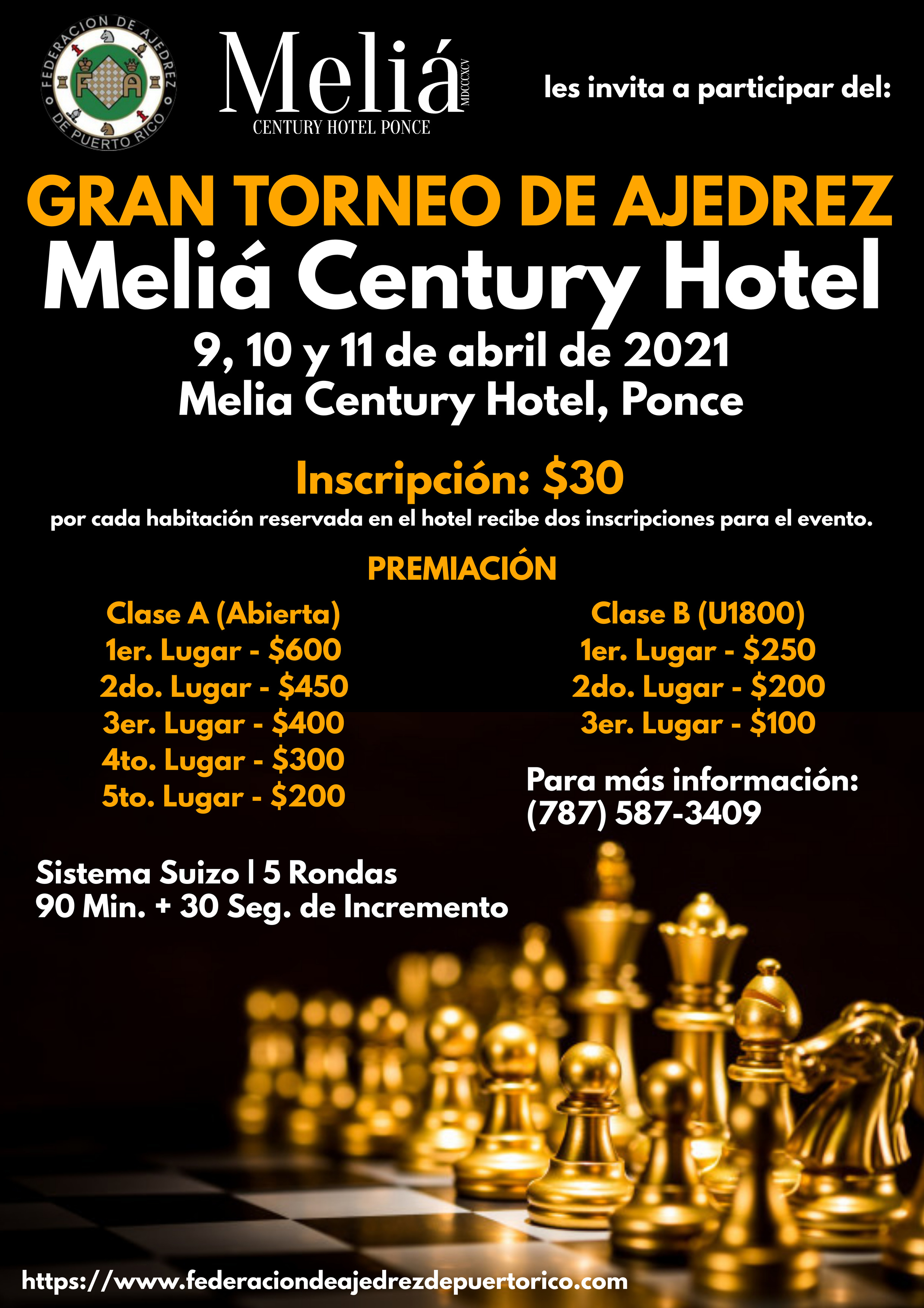 Gran Torneo de Ajedrez Melia Century Hot
