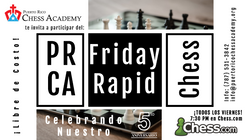 PRCA Friday Rapid Chess
