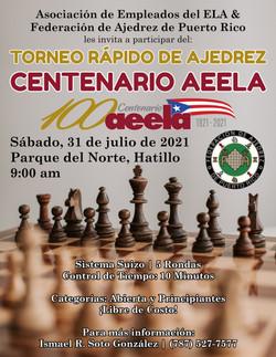 Torneo Rapido de Ajedrez Centenario AEELA