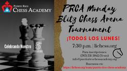 PRCA Monday Blitz Chess Arena Tournament